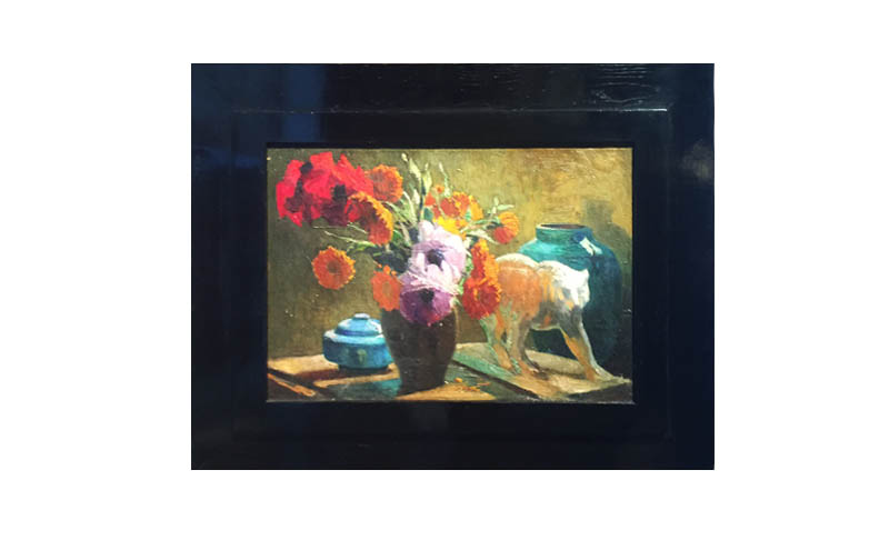Natura morta art deco  Art deco still life painting