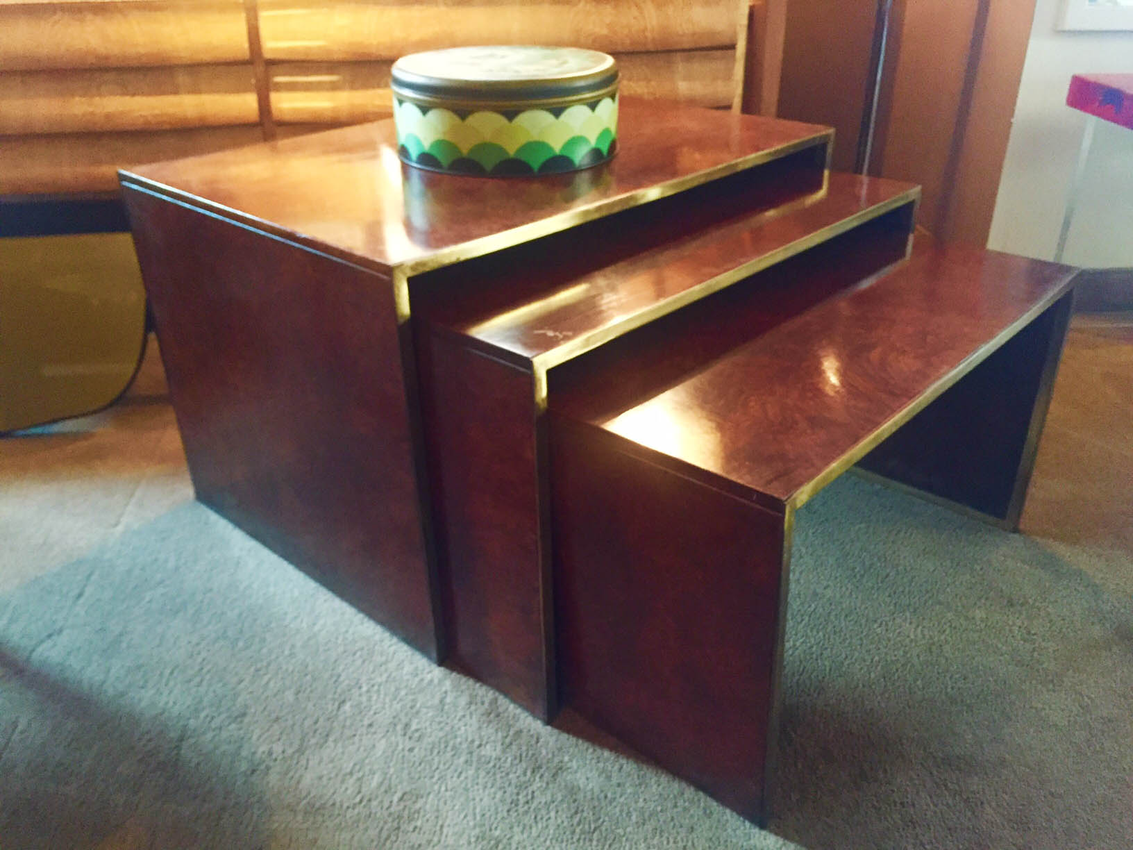 3 Tavolini Willy Rizzo 1970 - 3 coffee Table Willy Rizzo 1970